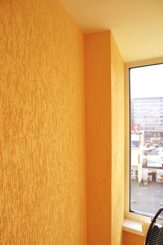 одна природная короед штукатурка фото в квартире на балконе семья